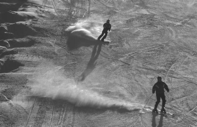 skiers keystone bnw