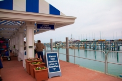Ferry Landing in Mackinac City