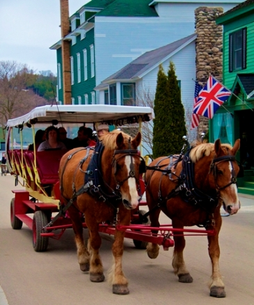 Taxi on Mackinac
