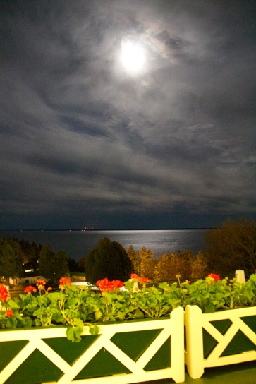 Moonlight Over Lake Hudson - Grand Hotel, Mackinac Island