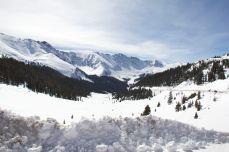 Abasin from loveland pass